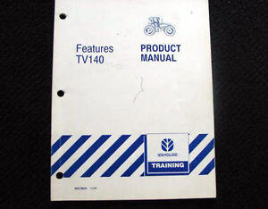 NEW-HOLLAND-TV140-TRACTOR-FEATURES-OPTIONS-SPECIFICATIONS-MANUAL