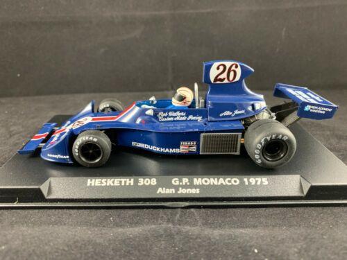 A2007 FLY HESKETH 308 ALAN JONES #26 MONACO GP 1975 SLOT CAR 1:32