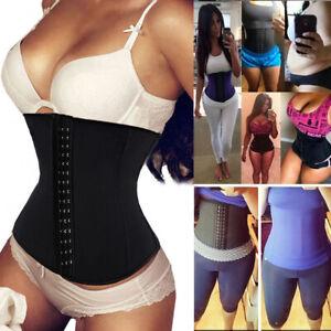 Fajas Colombian Womens Shapewear Waist Trainer Gym Cincher Girdle LATEX Reductor
