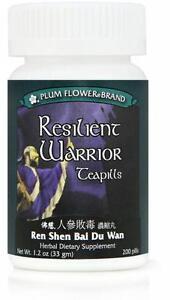 Plum-Flower-Resilient-Warrior-Ren-Shen-Bai-Du-Wan-200-ct