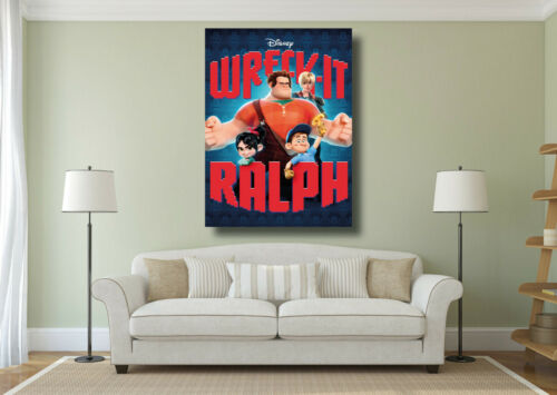 Wreck It Ralph Movie Poster Kids Classic Cinema Large Wall Art Print A0 A1 A2