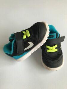 Blue Trainers Size Infant 3.5 Kids
