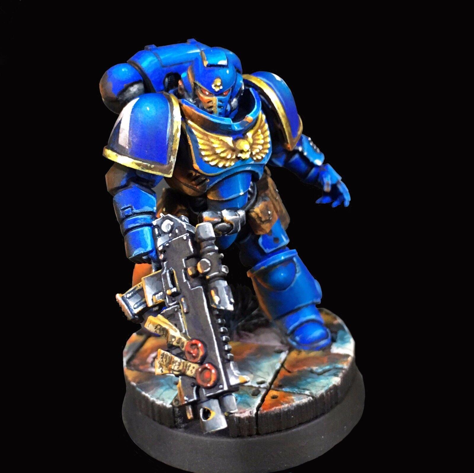 Proffessionaly Painted Primaris Ultramarine Sergeant