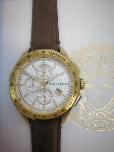 Versace-Glaze-VEBJ00418-Luxury-Men-039-s-Chronograph-Swiss-Watch-2-Years-Warranty