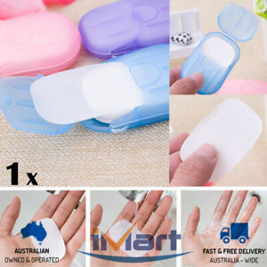 1x-Portable-Outdoor-Travel-Mini-Soap-Paper-Washing-Hand-Bath-Clean-Scented-Sheet