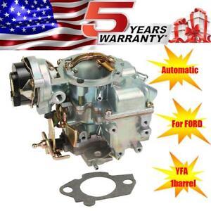 Carter-YFA-1barrel-Carburetor-For-Ford-F100-F150-F250-F350-1965-1985-200-300-Cu