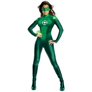 Sexy female superhero green lantern