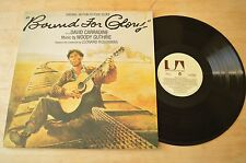 Woody Guthrie - Bound For Glory OST Vinyl Record LP UAG30035 G/F 1977 UK
