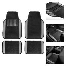 Gray Black Carpet Floor Mats For Auto Car Sedan Suv Van Universal Fitment Fits 2012 Toyota Corolla