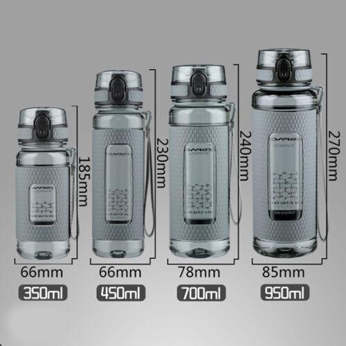 UZSPACE Sport Water Bottles Gym anti-fall Leak-proof large Capacity Kettle JR