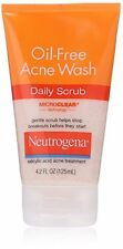 Neutrogena Oil-Free Acne Wash Daily Scrub 4.20oz Each