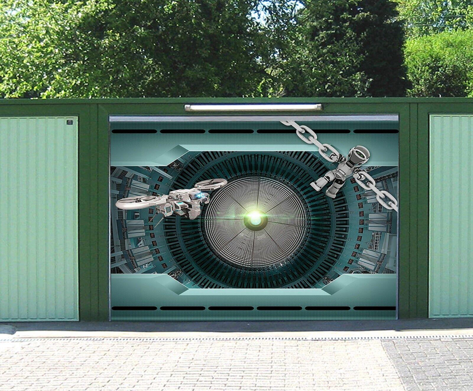 3D Technology 75 Garage Door Murals Wall Print Decal Wall AJ WALLPAPER AU Carly