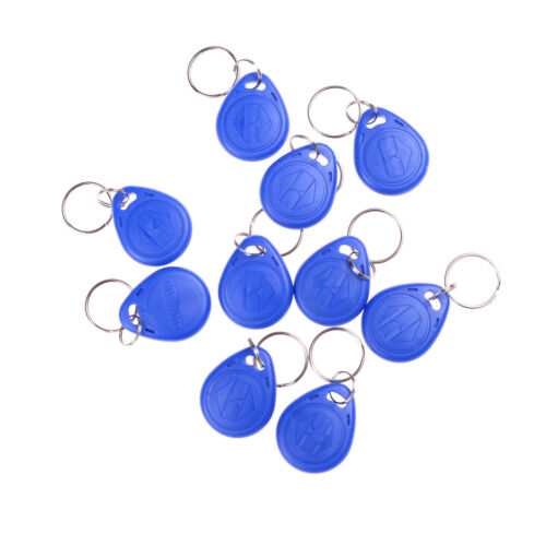 10pcs EM4305 Copy Rewritable Writable Rewrite RFID Tag Key Ring Card 125KHZ 5 OI