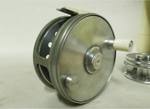 Vintage Style 4  Speyco Lead finsh salmon fly reel  bone handle