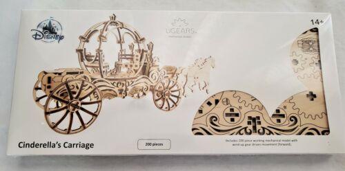 Disney UGears Cinderella Carriage Wooden Puzzle 3D Mechanical Model 200 Pieces