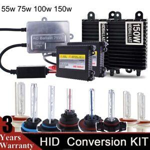 Xenon 55W /75W /100W 150W H1 H3 H4 H7 H11 9005 9006 HID Headlight Conversion Kit