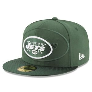 New York Jets Green New Era NFL 2016 Sideline 59FIFTY Fitted Hat Cap ... 027ea2b0c