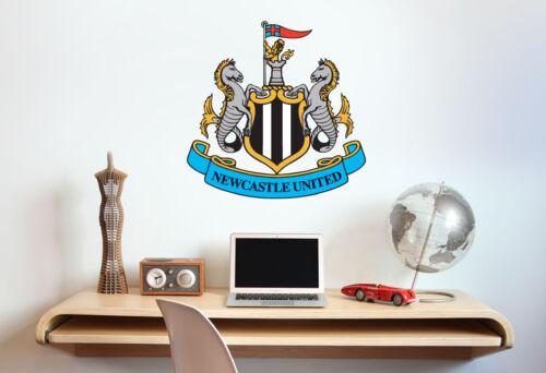 Officiel Newcastle United Football Crest Autocollant Mural /& Ensemble Autocollant Vinyle Murale