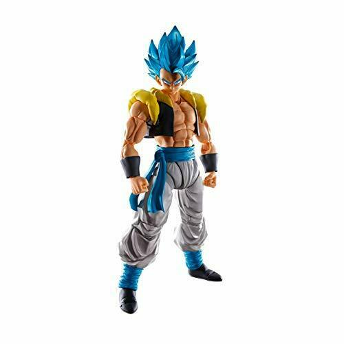 Bandai S.H. Figuarts Dragon Ball súper Saiyan Dios Gogeta de Figura de acción con seguimiento