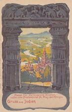 Dresden AK 1900 Arthur Bendrat Bazar Leidende Kindheit Indien Sachsen 1701194