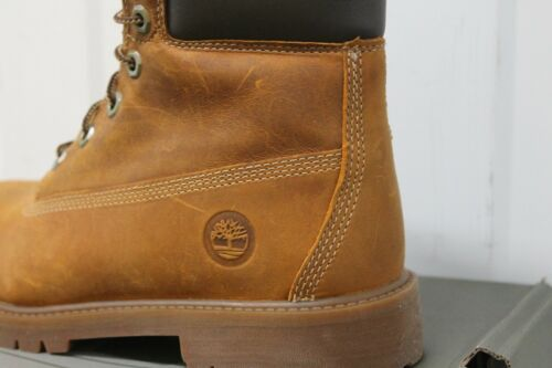 JUNIOR,S TIMBERLAND 80904 RUST AUTHENTIC 6 INCH LACE UP BOOT BNIB