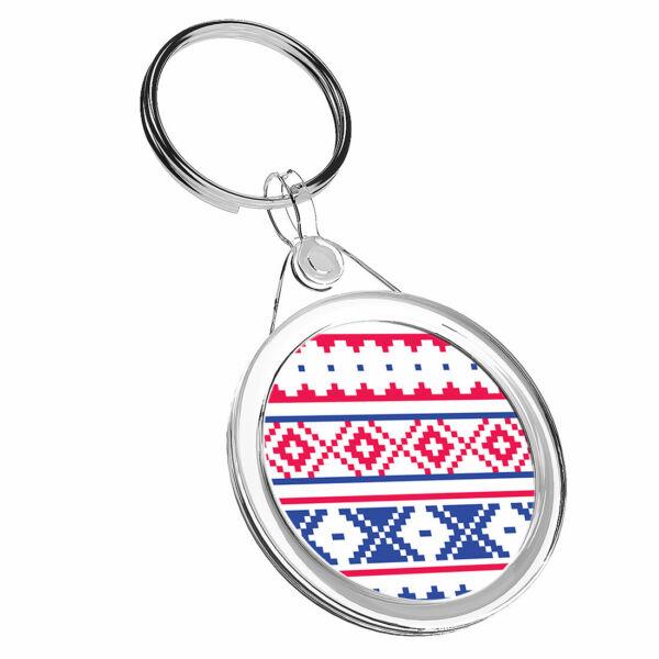 1 Design Folk Lapponia X Nordic-portachiavi Ir02 Mamma Papa 'regalo Di Compleanno Cool #16685 Sentirsi A Proprio Agio