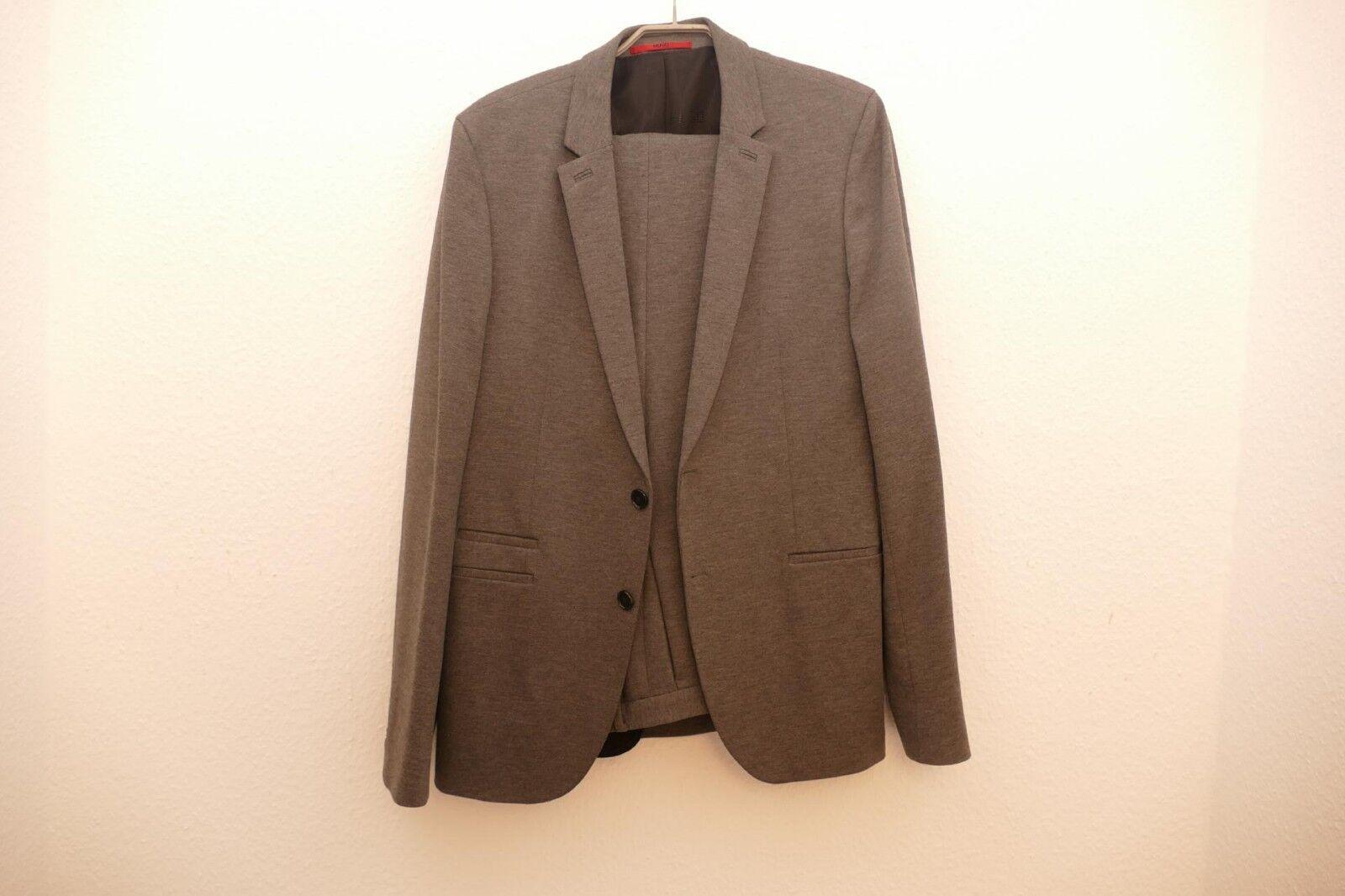 1312---Boss Herren Anzug Gr 102 Farbe grau Anzug aktuell,wie neu