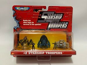 Vintage-Galoob-1997-Micro-Machines-2-Starship-Troopers-New-Sealed-MOC-Toy-Set