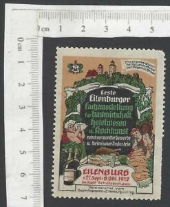 Germany-1912-Cookery-Exhibition-Ellenburg-poster-stamp