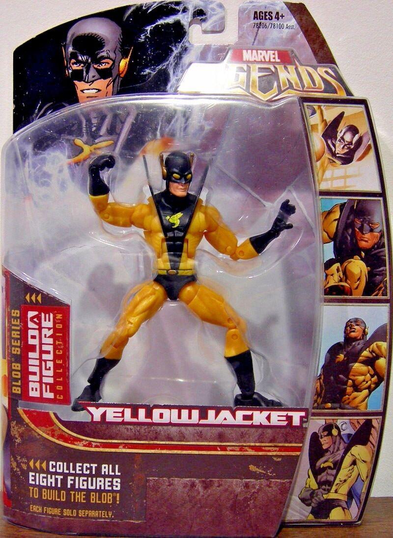 amarillojacket (2006) MARVEL leyendas (Blob Serie) Vengadores Figura De Acción  5