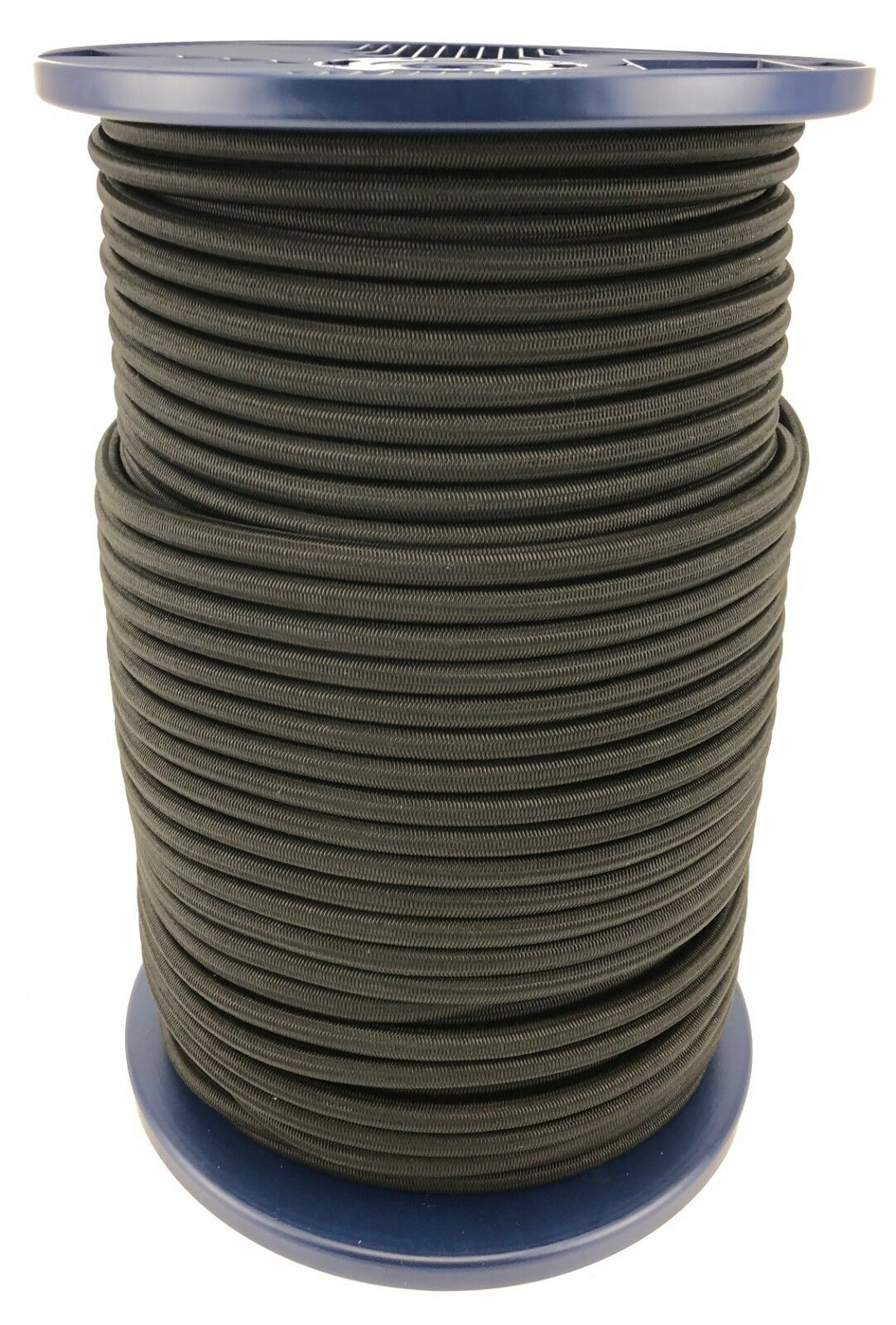 12mm Negro Bungee Elastica Cuerda Cuerda Elástica Anudable UV Estable