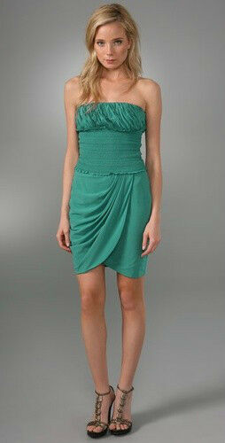 Catherine Malandrino Dress With Ruched Waist  6 US