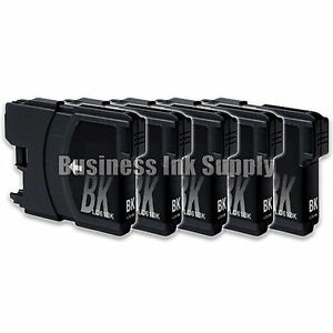 5-Black-LC61-Generic-Ink-Cartridge-for-Brother-LC-61-LC61BK-LC61-Ink-Cartridge