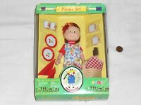 Madeline Doll Picnic Set - 8 Doll & Accessories Set By Eden Madaline Maddy