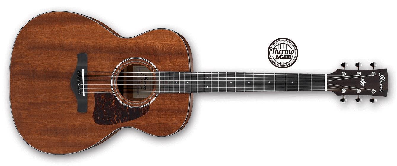 Ibanez AVC9 Artwood Vintage Grand Concert Acoustic, Open Pore Natural