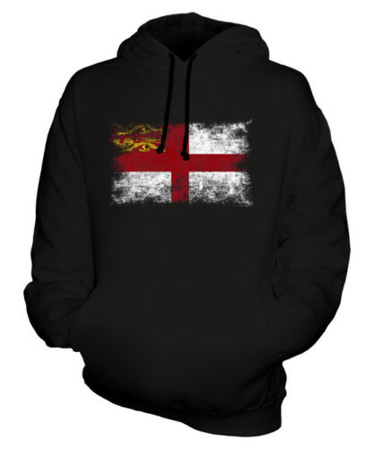 Hot SARK DISTRESSED FLAG UNISEX HOODIE TOP FOOTBALL GIFT CLOTHING JERSEY for cheap