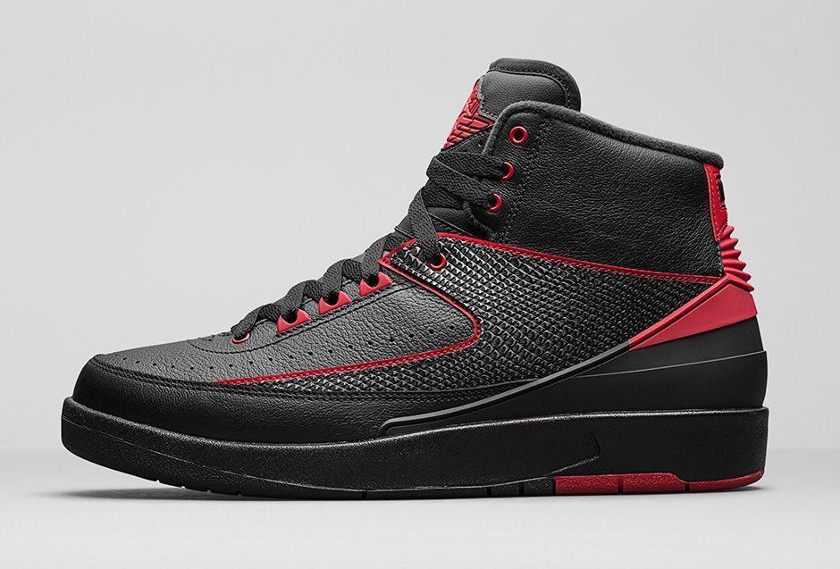 2016 Nike Air Jordan 2 II Retro Alternate Bred Size 13. 834274-001 1 3 4 5 6 7