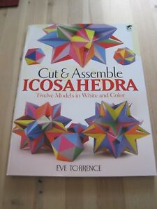 Cut-amp-Assemble-Icosahedrons-by-Eve-A-Torrence-Paperback-2011