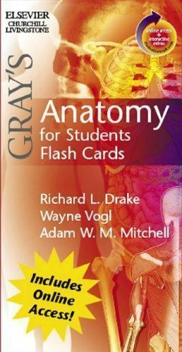 Grays Anatomy For Students Flash Cardswith Student Consult Online