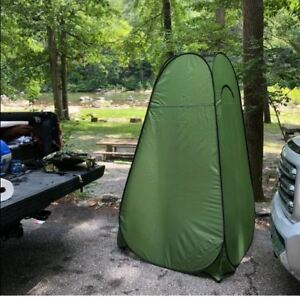 Image is loading Porta-Potty-Tent-Privacy-Portable-Changing-Room-Boating- & Porta Potty Tent Privacy Portable Changing Room Boating RV Canopy ...