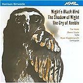 1 of 1 - Birtwistle: Night's Black Bird / The Shadow of Night / The Cry of Anubis, , Very