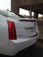 Cadillac Ats Sedan Spoiler Factory Style Painted Lifetime Warranty All Colors