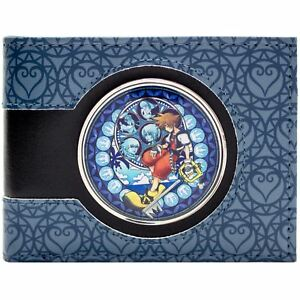 NEW-OFFICIAL-KINGDOM-HEARTS-SORA-IN-STAINED-GLASS-WINDOW-ID-amp-CARD-BIFOLD-WALLET