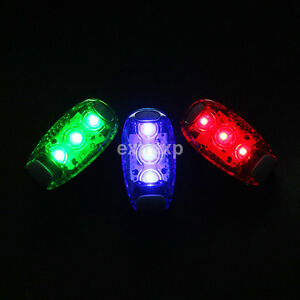 Led Cycling Bike Bicycle Running Safety Warning Lamp Back Light Rear Tail Hot##
