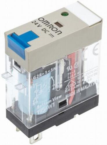 1X relais G2R-1-SNI 24VDC OMRON =RXG11BD SCHNEIDER  =46.61.9.024.0074 FINDER