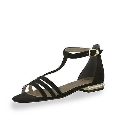 Tamaris Damen Sandale Sandaletten Riemchenschuhe Sommerschuhe Schuhe schwarz   eBay