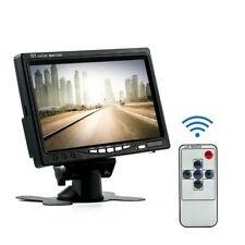 7 Inch TFT LCD Color HD Mirror Monitor Car Reverse Rear View Backup Camera  IE