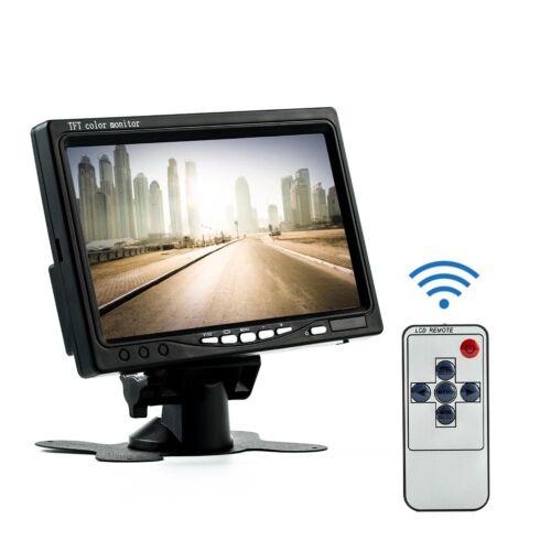7 Inch TFT LCD Color HD Mirror Monitor Car Reverse Rear View Backup Camera/%// SA