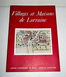 Villages et Maisons de Lorraine - Presses Universitaires de Nancy 6IIyDu6q-07215548-881486027