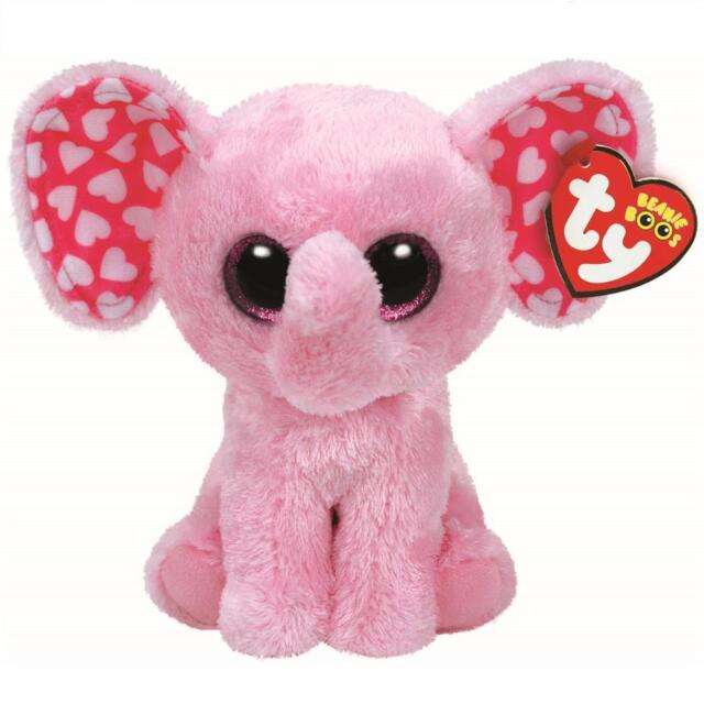 Ty Beanie Boo Sugar The Elephant Glitter Eyes 15cm for sale online ... ace9939dadce